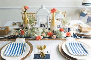 nautical wedding table
