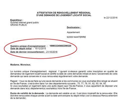 Lettre Demande De Logement Social Urgent lettre de demande de logement social