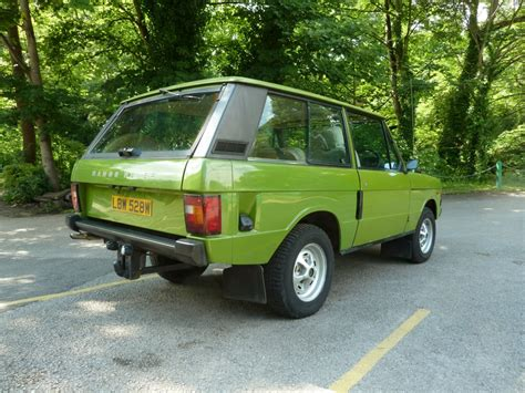 green range rover classic lbw 528w warwick green 1981 range rover sold land
