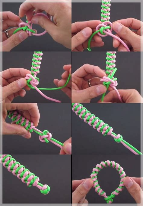 membuat kerajinan gelang dari tali kur membuat sendiri gelang cantik dari tali kur