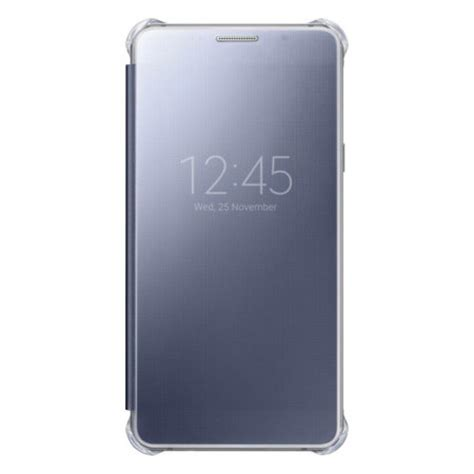 official samsung galaxy a5 2016 clear view cover case blue