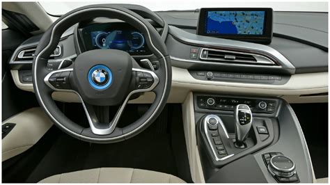 White Bmw With Interior by 2015 Bmw I8 Interior
