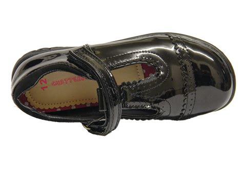 light up shoes size 4 girls black patent shoes t bar formal light up uk