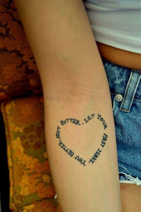 heart quotes tattoo tumblr heart shape inspired tattoo pretty designs