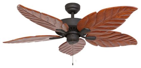 tropical indoor ceiling fans with lights punta cana 52 quot indoor ceiling fan bronze tropical