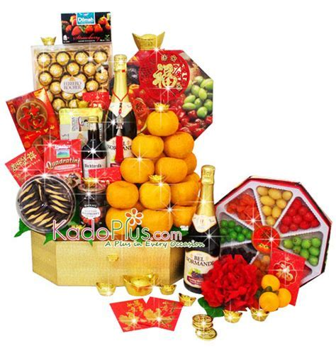 Chinese New Year Hamper: Golden Fortunes   Toko Bunga