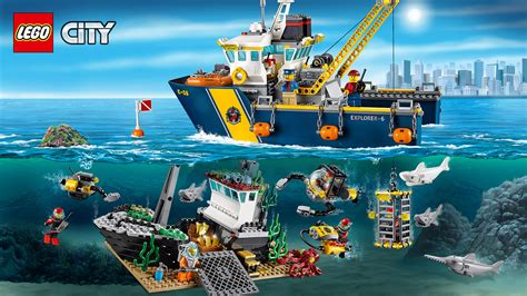 lego boat deep sea 60095 deep sea exploration vessel wallpaper lego 174 city