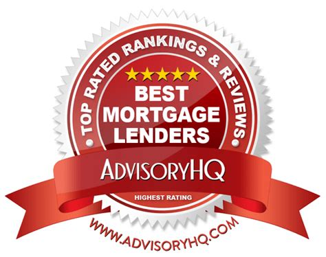 top 10 best mortgage lenders 2017 ranking best