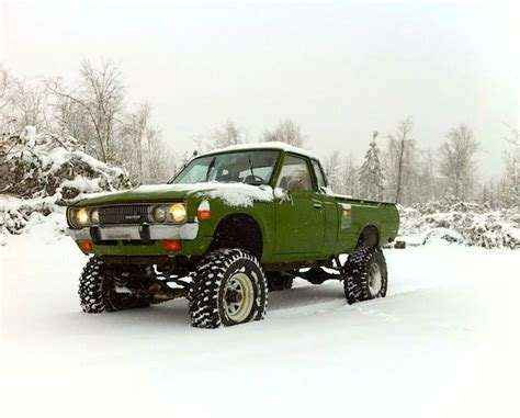 nissan pickup 4x4 lifted datsun 620 4x4 favorite cars carzz datsun 4x4