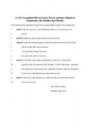 congressional bill template energyhelper