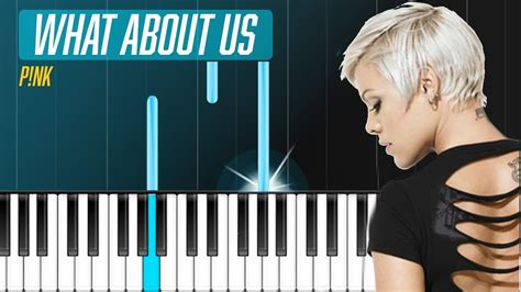 piano tutorial us and them pink quot what about us quot piano tutorial chords how to
