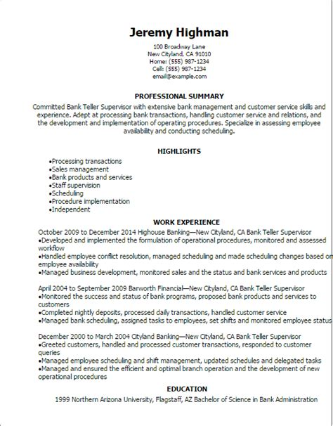 sle resume to apply for bank bank teller resume exle project management resume