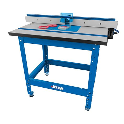 bench router table kreg large router table system router tables carbatec