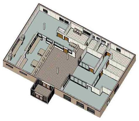 bank floor plan whitley manufacturing modular laboratories pre engineered