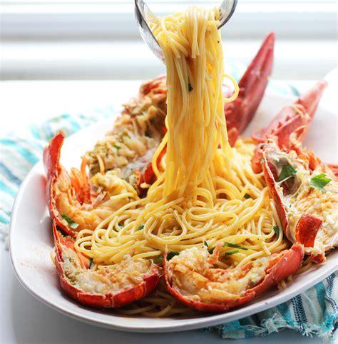 come cucinare aragosta congelata lobster spaghetti santorini style keeprecipes your