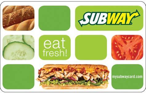 Subway Gift Card Giveaway - 20 00 subway gift card giveaway