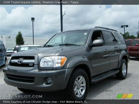 2006 Toyota Sequoia Limited Phantom Gray Pearl 2006 Toyota Sequoia Limited Taupe