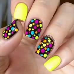 colorful nail designs 22 lovely polka dot nail designs for 2016 pretty designs