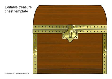 editable treasure chest templates sb4946 sparklebox
