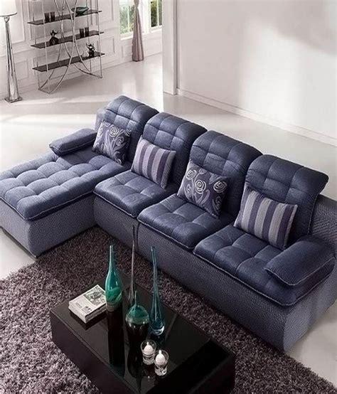 blue l shaped couch sofa factory stylish dark blue l shape sofa buy sofa