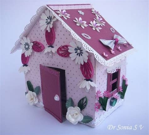 kids craft doll houses recycling craft doll house making tutorial recycle any box into a house box and