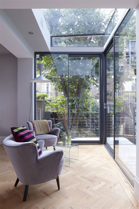 home design story expansion modern glass extension on a 5 story london townhouse