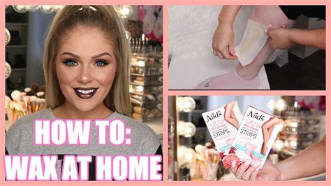 Waxing At Home by How To Wax Your Legs At Home Easy