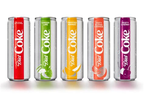 product layout coca cola diet coke is getting a major overhaul with new flavors as