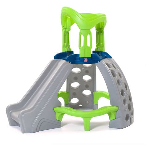 step 2 swing and slide combo castle top mountain climber kids climber step2
