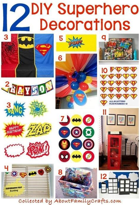 diy superhero party ideas  family crafts