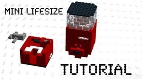 tutorial lego machine watches lego candy and candy on pinterest