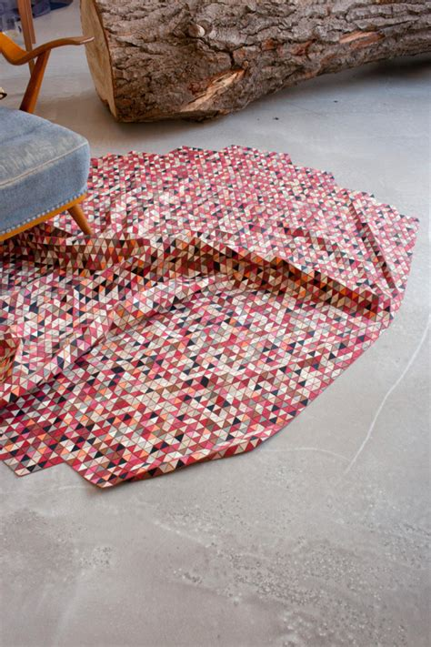 milk design s r o colored wooden rugs by elisa strozyk design milk