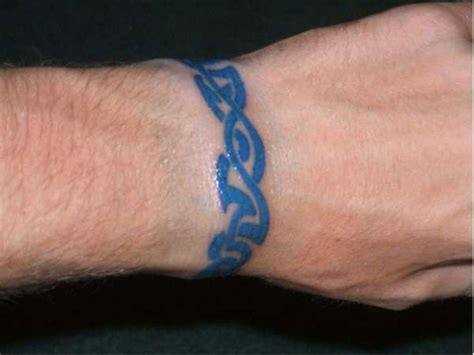 blue tribal tattoo 39 awesome tribal wrist designs