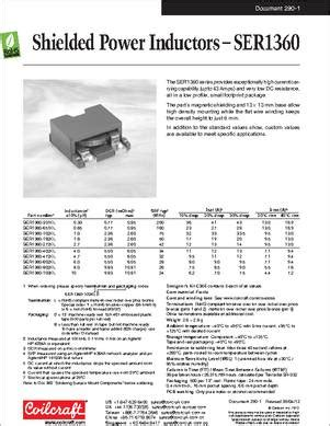 shielded inductor datasheet coilcraft shielded power inductors 28 images shielded power inductors for electric vehicles