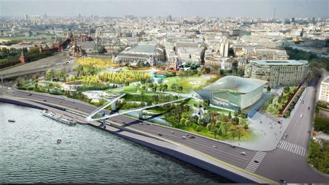 Traditional House Floor Plans diller scofidio renfro open moscow s first public park