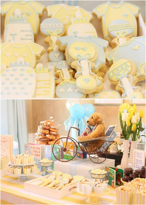 Baby Book Themed Shower by Children S Book Themed Baby Boy Shower Pizzazzerie