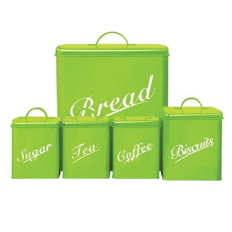 cheap kitchen utensils canister set of deeyan 5 piece canister set bread bin sugar coffee tea biscuits