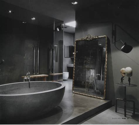 dark bathrooms design rydeng s blog the home of fashion designer maurizio
