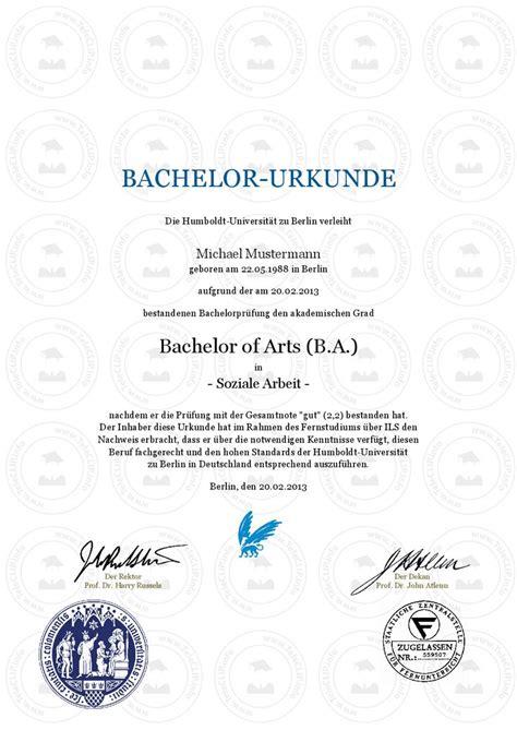 Bachelor Mba by 12 Best Images About Bachelor Urkunde Bachelorzeugnis