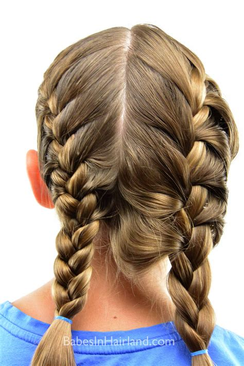 french braided weave how to get a tight french braid babes in hairland