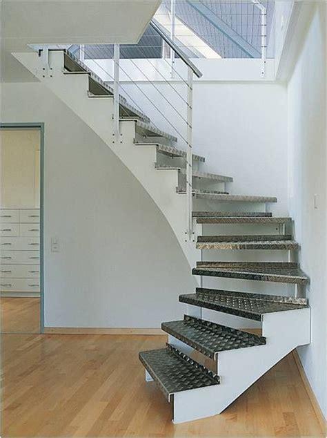barandilla transparente escalera transparente con pelda 241 os de aluminio y