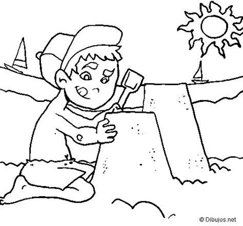 imagenes de invierno y verano para colorear disegno di estate da colorare acolore com
