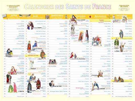 Calendrier Des Saints Bretons St Jude Editions