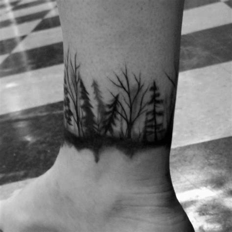 mens ankle tattoo designs 60 ankle band tattoos for lower leg design ideas