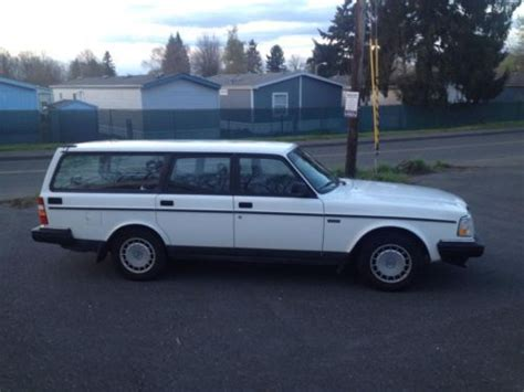 purchase   volvo  dl wagon survivor immaculate  portland oregon united states