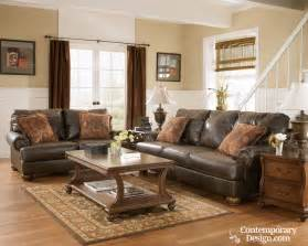 leather sofa ideas living room paint color ideas with brown furniture