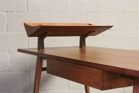 desk designed by bertha schaefer for singer and sons