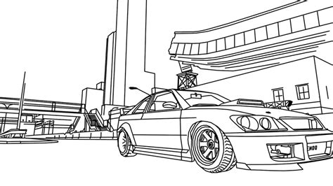 Gta 5 Coloring Pictures Grand Theft Auto Coloring Pages Gta 5 Coloring Pages