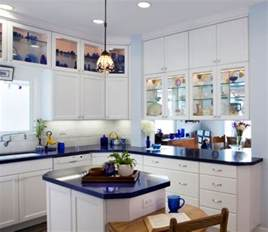 Kitchen Countertop Cabinets Blue Kitchen Countertops On Blue Granite Blue