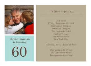 60th birthday invitation templates to